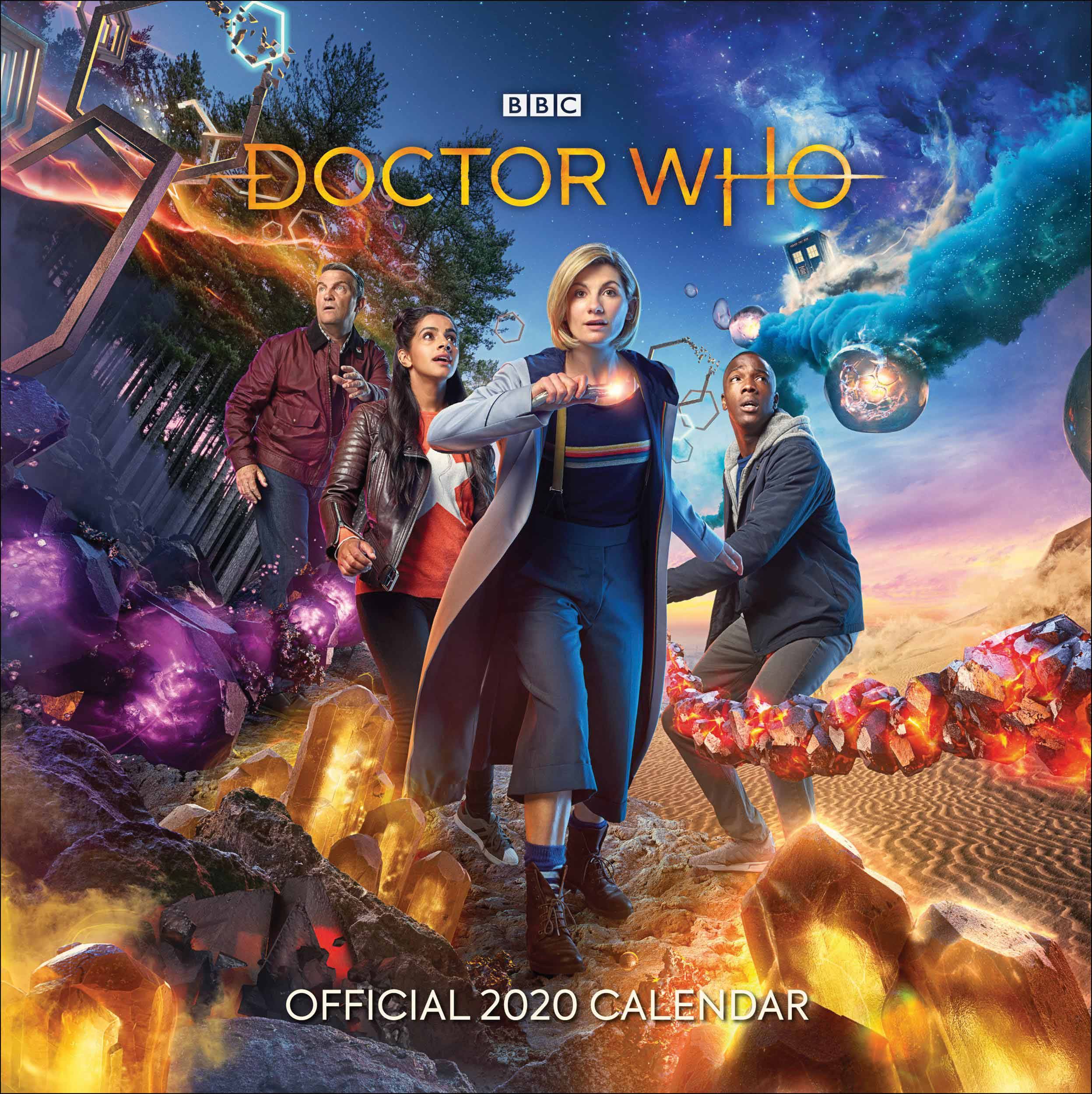 Games Coming Out In October 2020.Doctor Who Official Calendar 2020