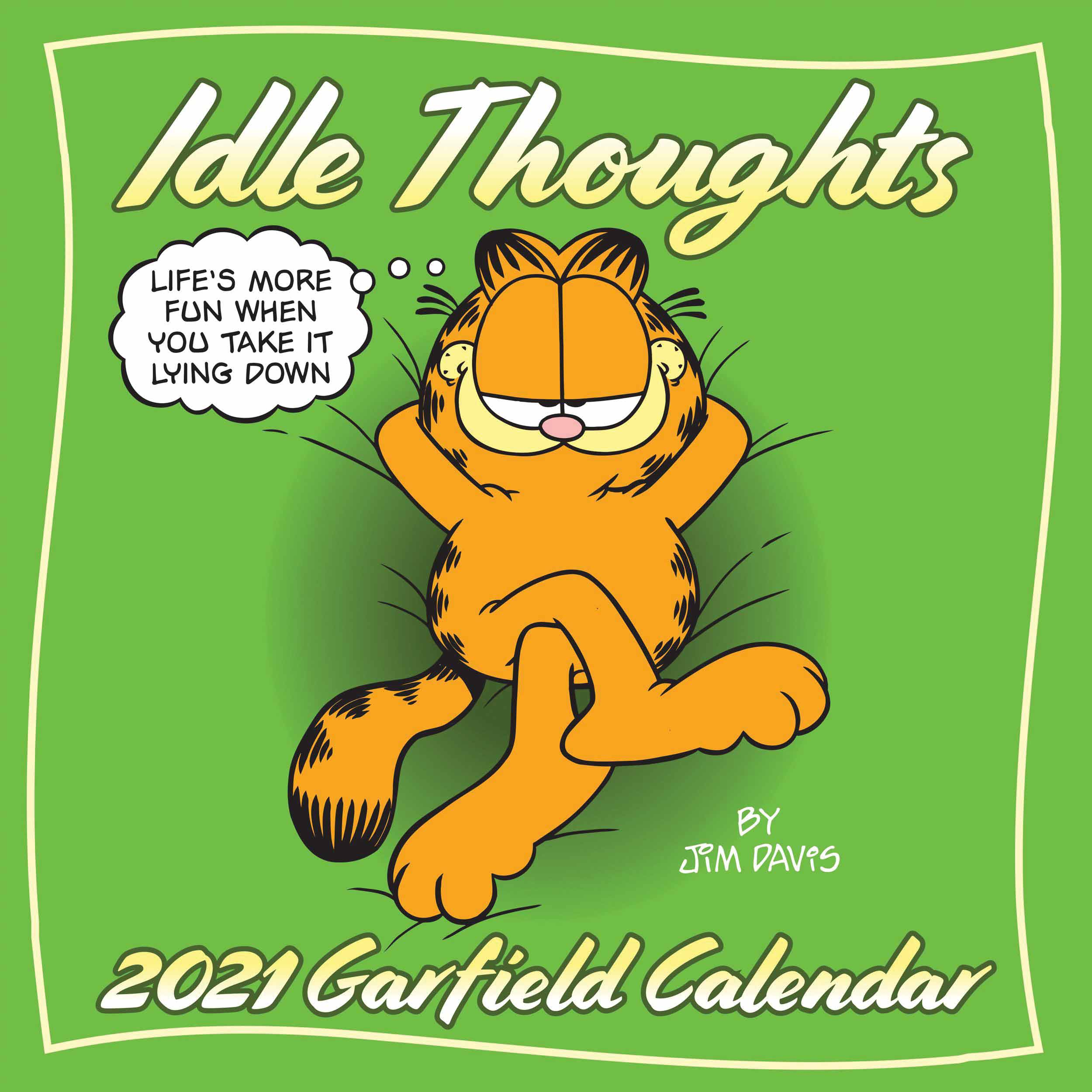 Garfield Idle Thoughts Calendar 2021 At Calendar Club