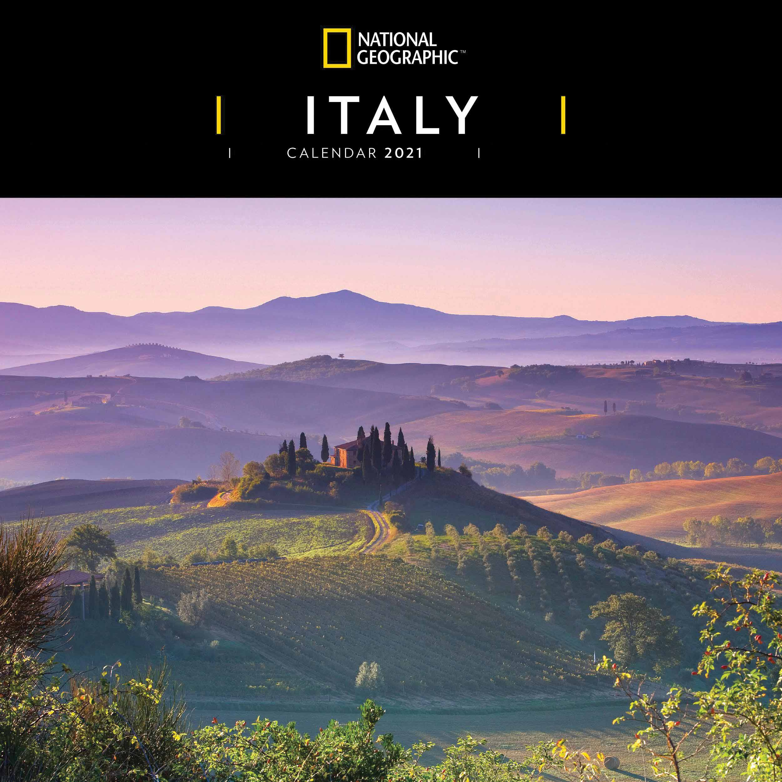 National Geographic, Italy Calendar 2021 at Calendar Club