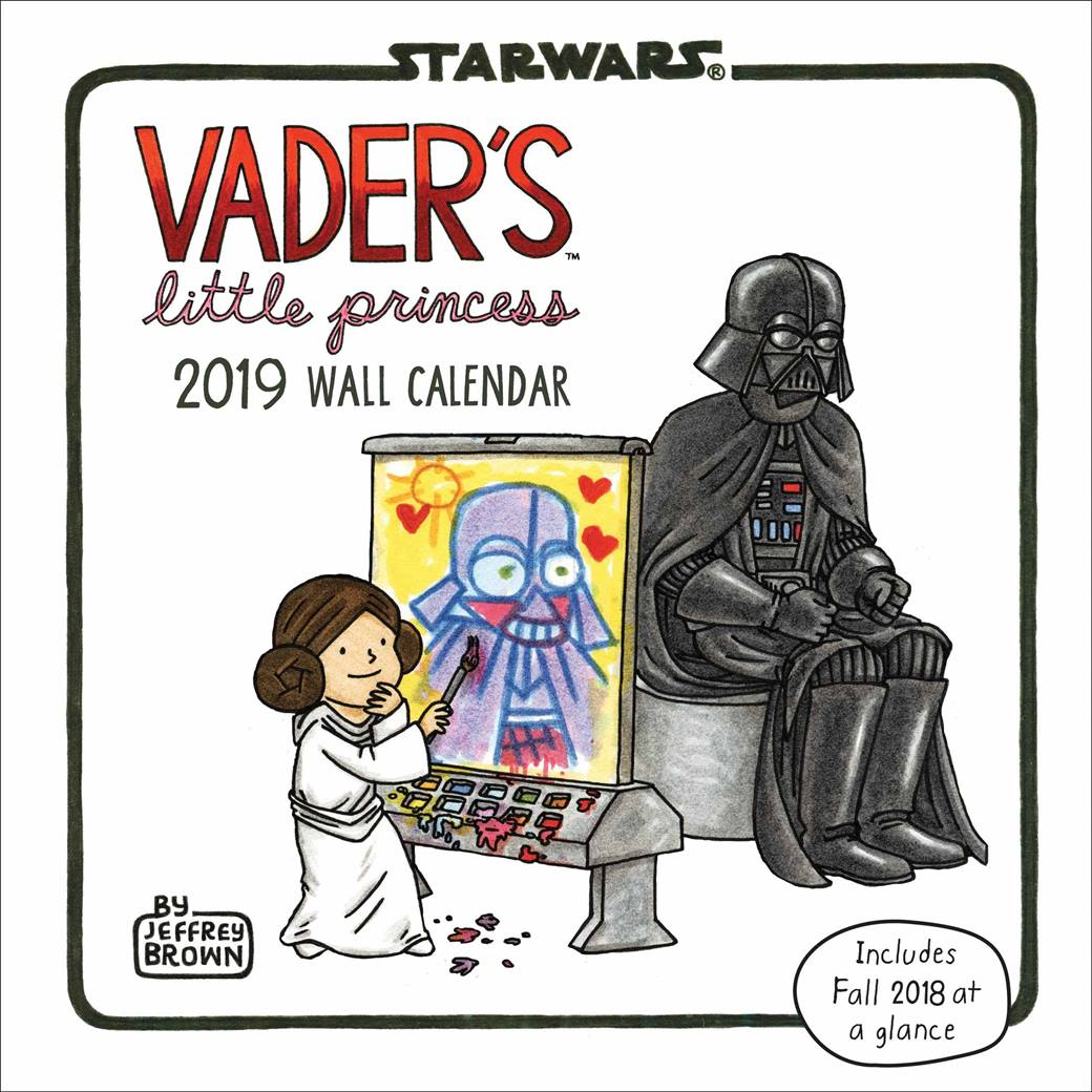 Free Comic Book Day 2019 Locations: Vaders Little Princess Calendar 2019