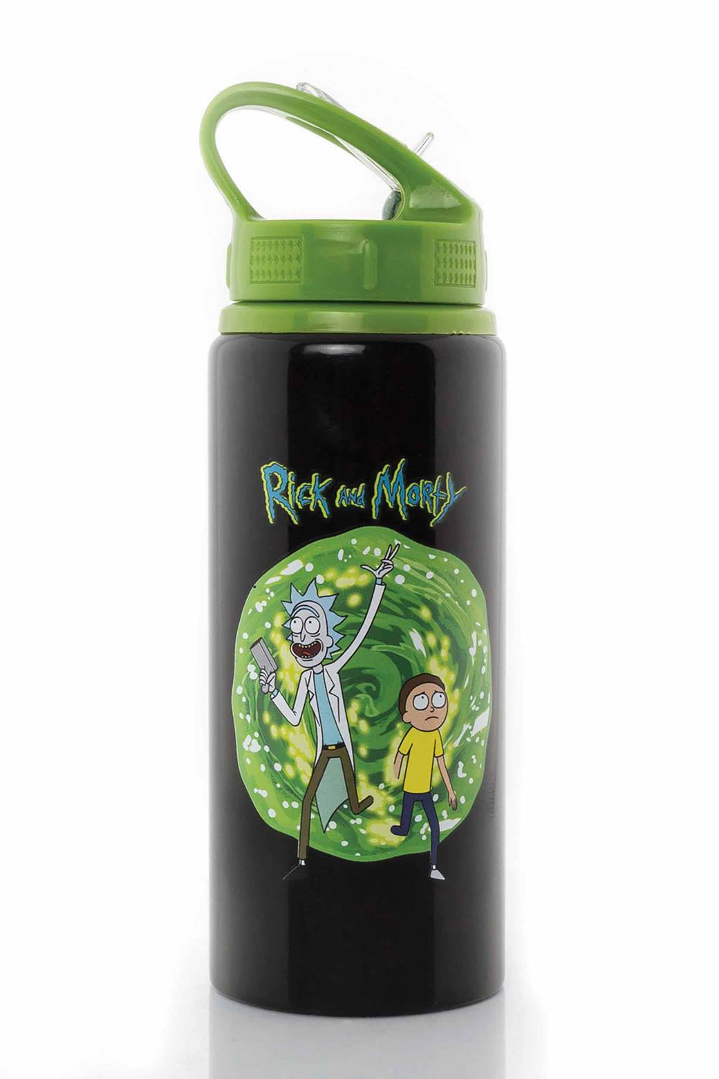 2889c5e383 Rick & Morty, Portal Water Bottle - Calendar Club UK