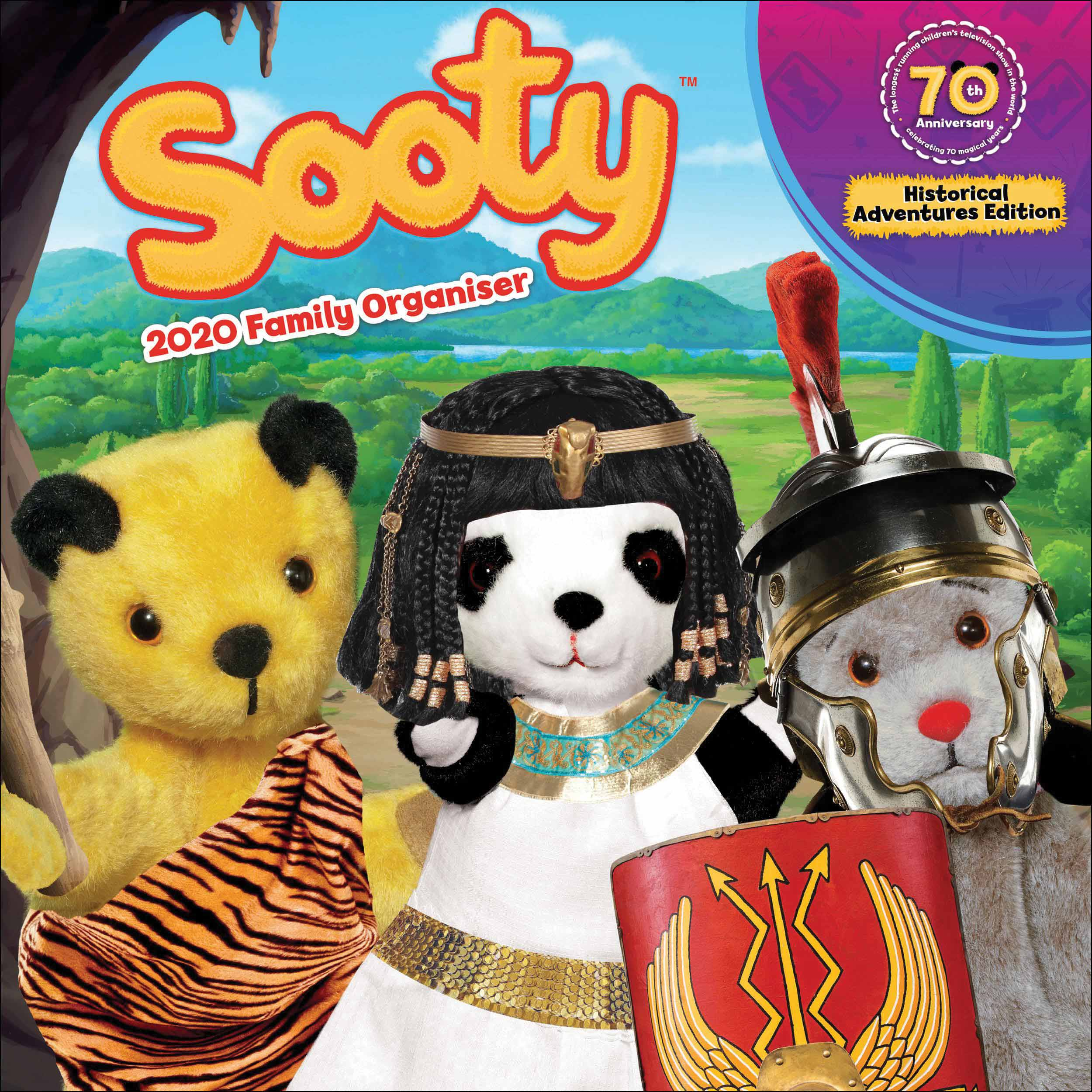 Sooty Official Family Planner 2020