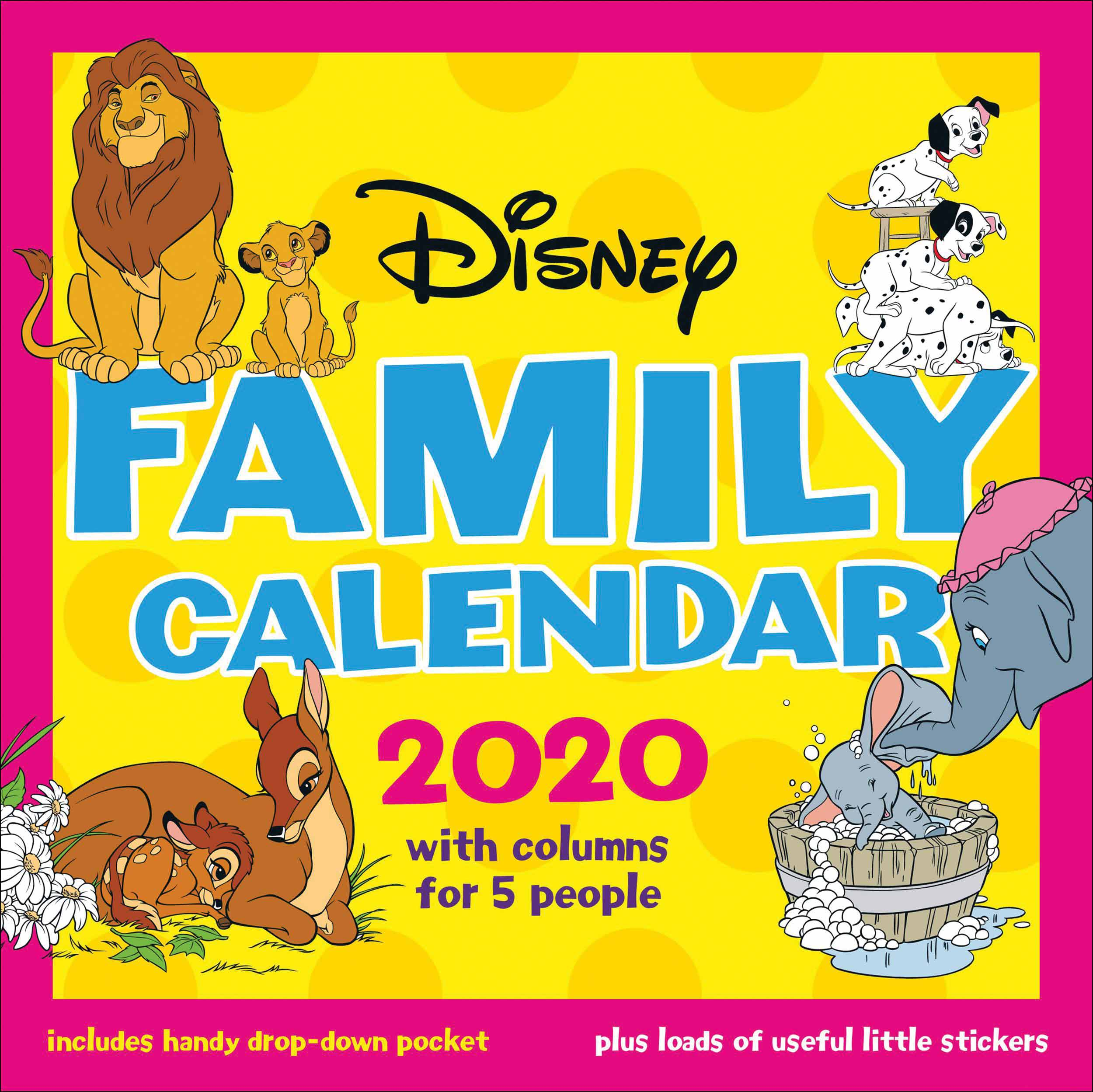 Disney Classics Official Family Planner 2020