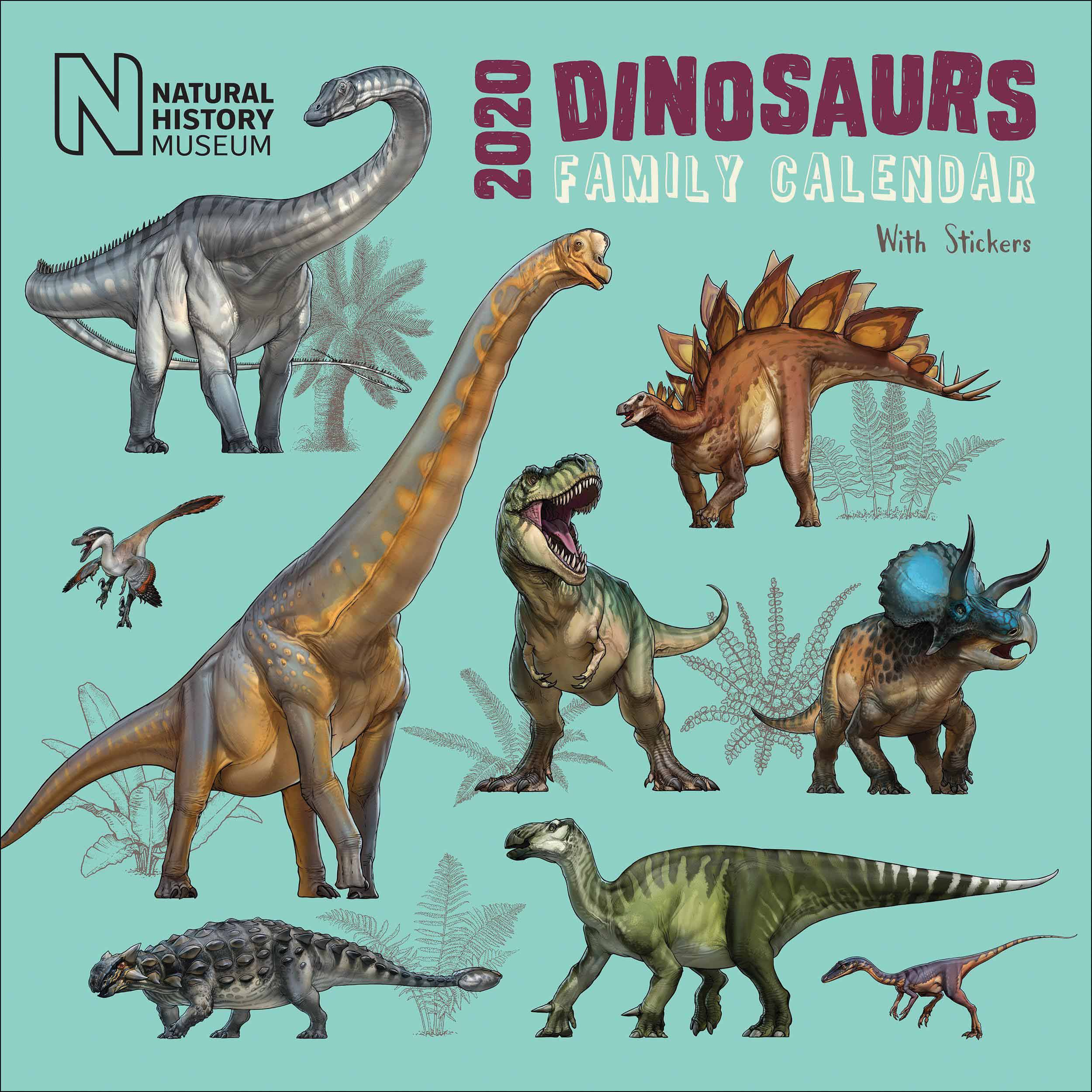 Natural History Museum Dinosaurs Family Planner 2020