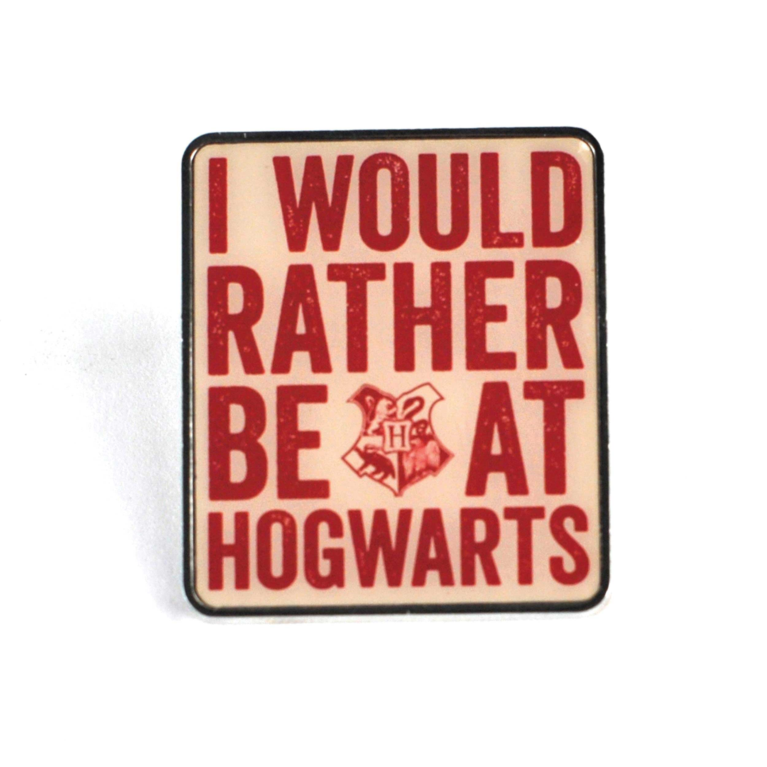 Harry Potter, Rather Be At Hogwarts Pin