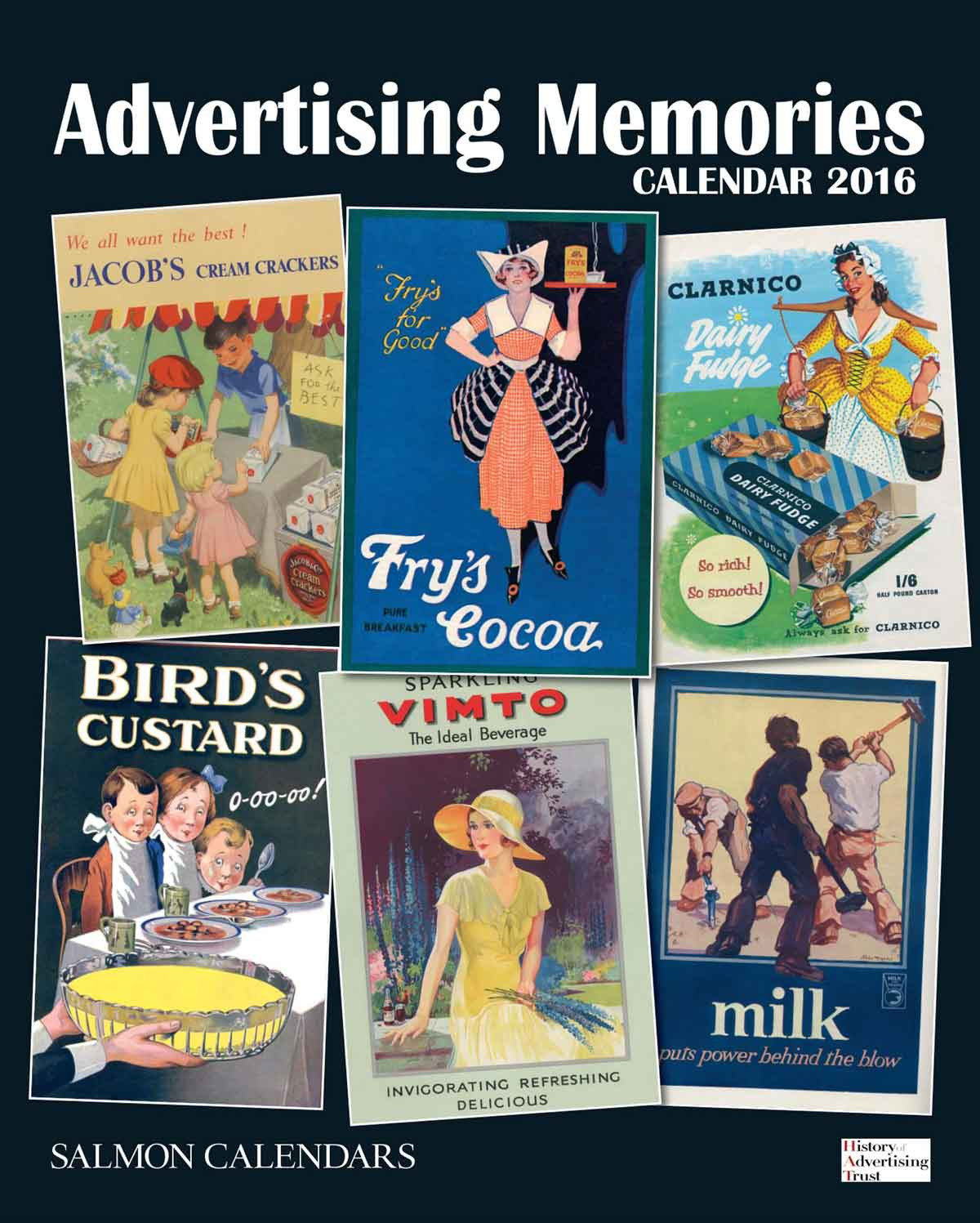 Advertising Memories Calendar 2016